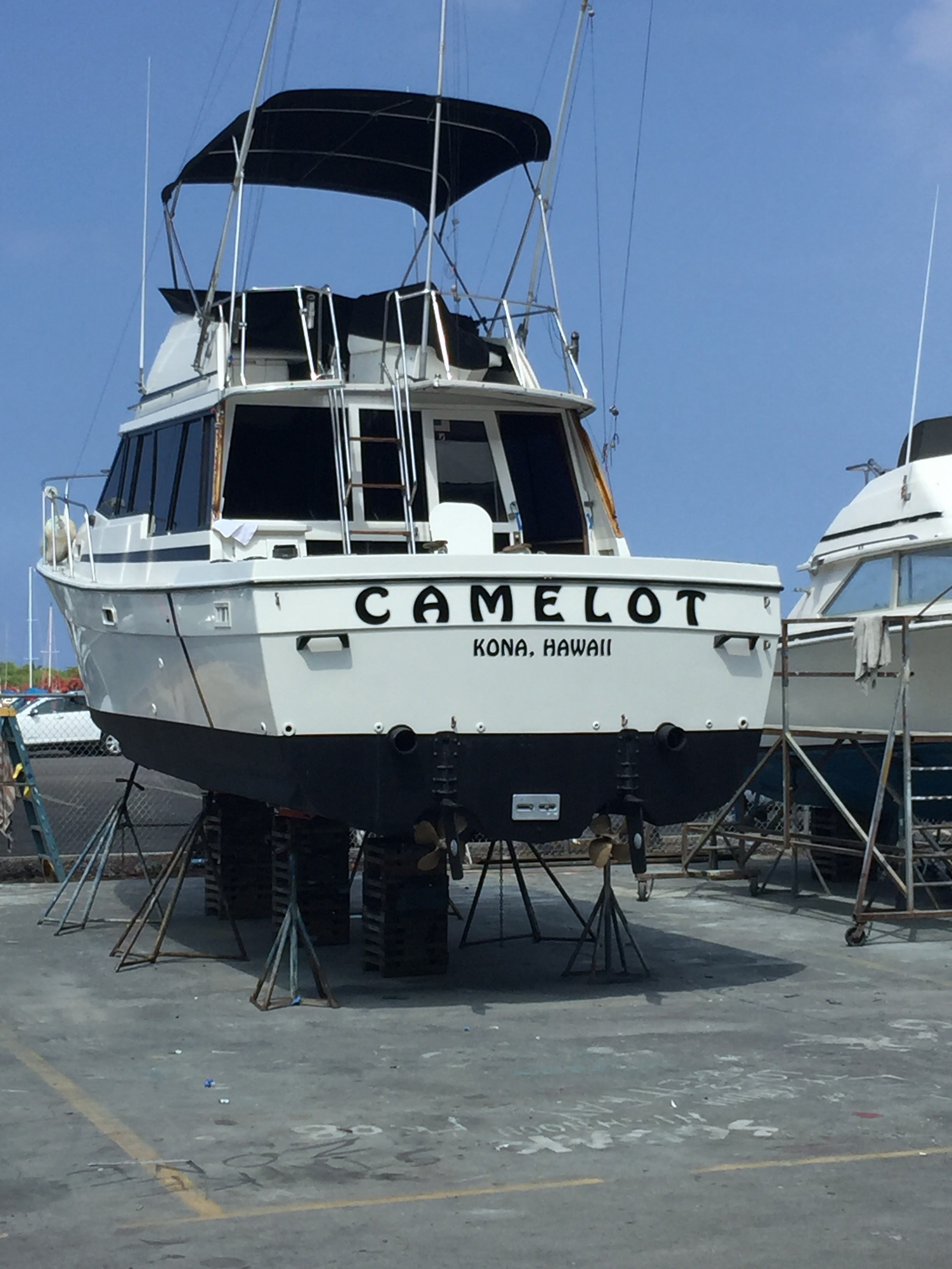 Kona sport fishing camelot sport fishing for Kona sport fishing